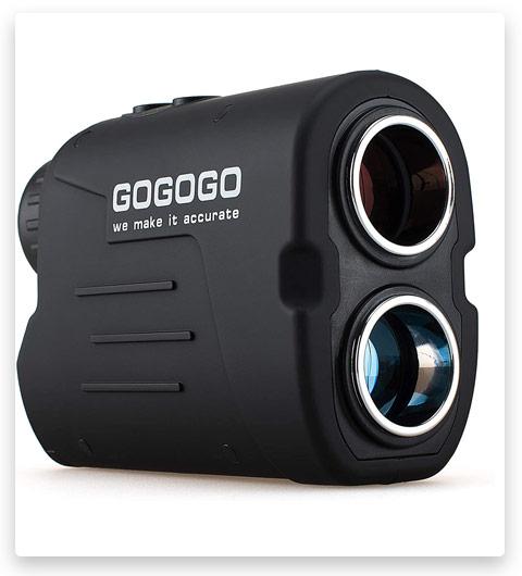 Gogogo Sports Laser Golf/Hunting Rangefinder