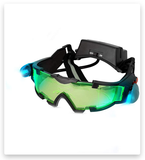 Kids Night Vision Goggles, Adjustable Spy Gear Night Mission Goggles