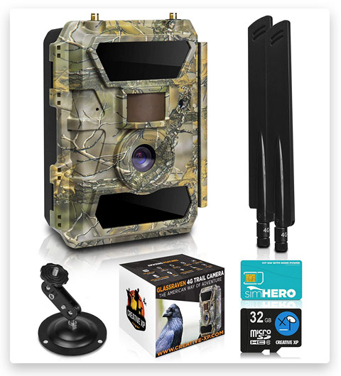 LTE 4G Cellular Trail Cameras