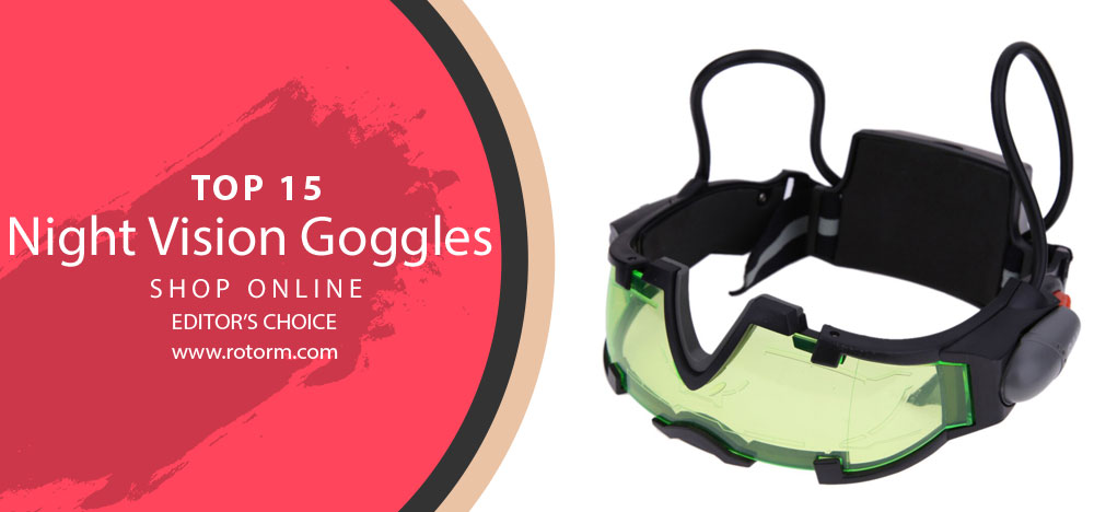 Best Night Vision Goggles - Editor's Choice