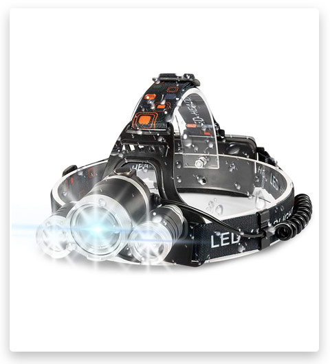IKAAMA Brightest Headlamp USB Rechargeable