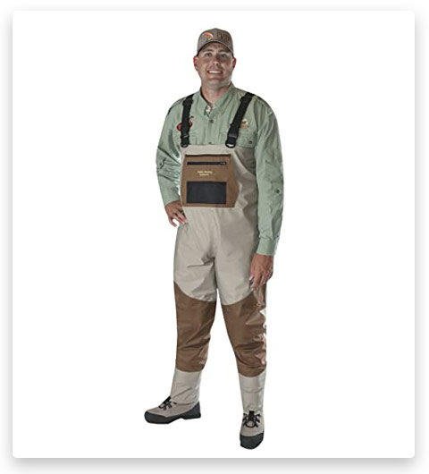 Caddis Men's Attractive 2-Tone Tauped Deluxe Breathable Waders