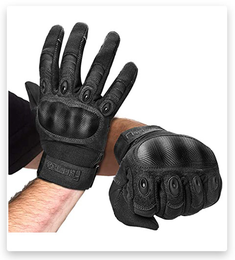 FREE TOO Knuckle Tactical Gloves for Men Military Gloves