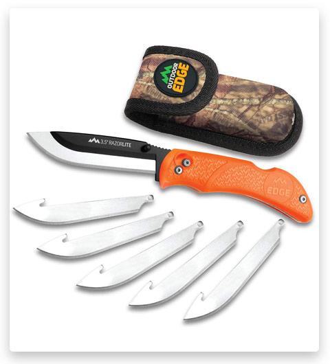 Outdoor Edge RazorLite Folding Hunting Knife
