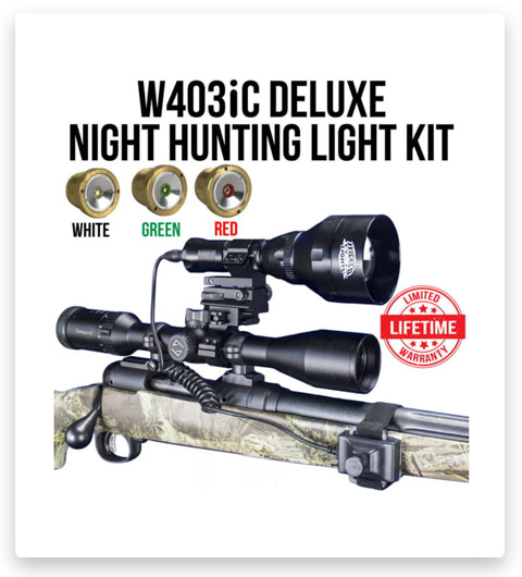 Wicked Hunting W403iC Deluxe Night Hunting Light Kit