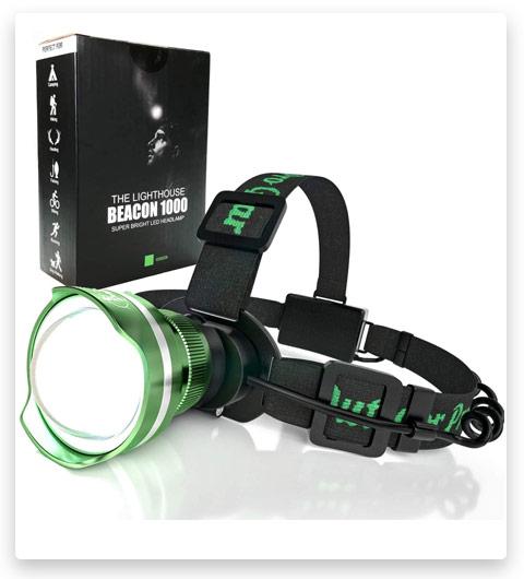 Super Bright LED Headlamp Flashlamp