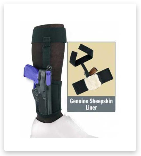 Gould & Goodrich B816 Ankle Concealment Holster Plus Garter