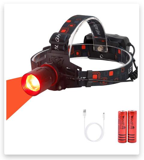 WindFire Hunting Headlight XML-T6