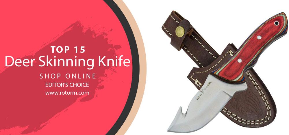 Best Deer Skinning Knife - Editor's Choice