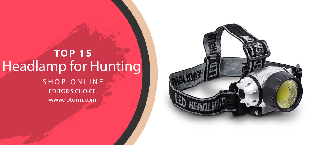 Best Headlamp for Hunting - Editor's Choice