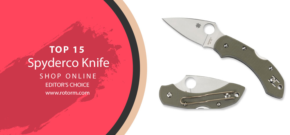 Best Spyderco Knife - Editor's Choice