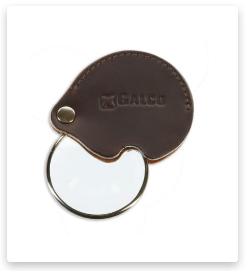 Galco Magnifying Loupe Glass With Case