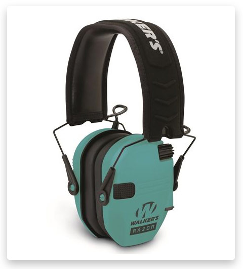 Walkers Razor Slim Shooter Folding Electronic Ear Muff Up