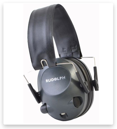 Rudolph Optics Electronics Slim Light Weight Ear Muffs