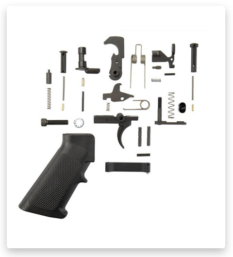 Tactical Superiority AR-15 Lower Parts Kit A2 Black Grip