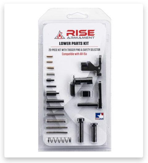 RISE Armament Lower Parts Kit Ar-15 Minus Trigger