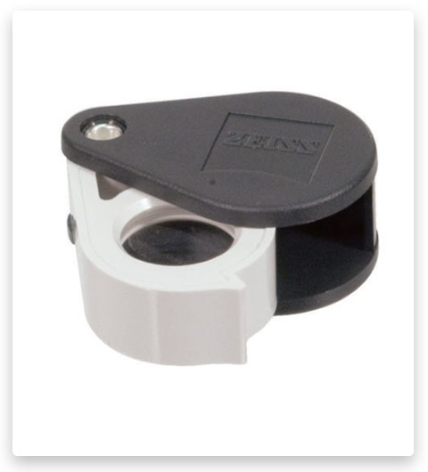 Zeiss Optics D40 10x Aplanatic Achromatic Pocket Magnifier Loupe