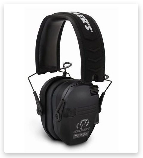 Walkers Razor Series Slim Shooter Folding Electronic Ear Muff Up