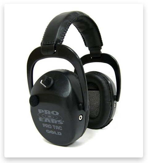 Pro Ears Pro Tac SC Gold NRR 25 Hearing Protectors
