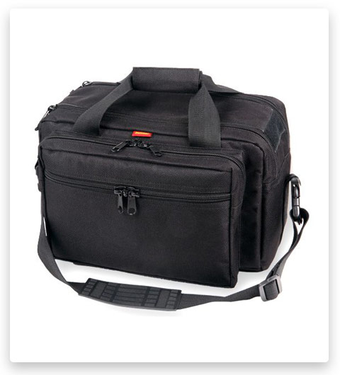 Bulldog Cases Extra Large Deluxe Black Range Bag (with Pistol Rug)