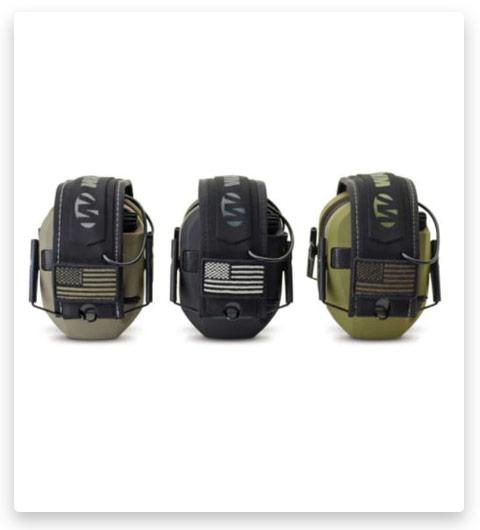 Walkers Razor Slim Electronic Patriot Series Ear Muffs