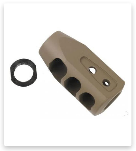 Guntec USA AR .308 Multi Port Muzzle Brake