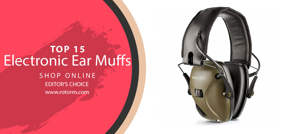Best Electronic Ear Muffs - Editor's Choice