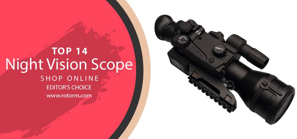 Best Night Vision Scope - Editor's Choice