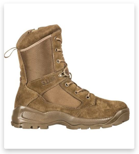 "5.11 Men's ATAC 2.0 8"" Tactical Side-Zip Military Boot"