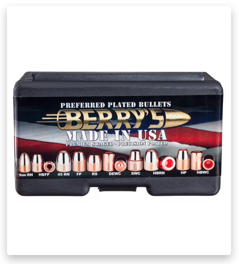 Berry's Preferred Plated Pistol Bullets