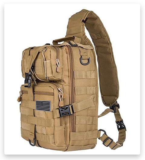 HAOMUK Tactical Sling Bag Pack