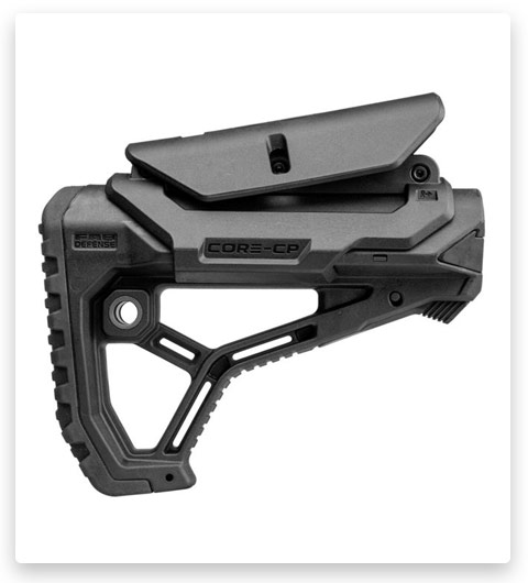 FAB Defense GL-CORE CP AR-15 Buttstock for Mil-Spec and Commercial Tubes