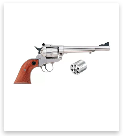 Ruger Single-Six Convertible Single-Action Revolver In Stainless Steel