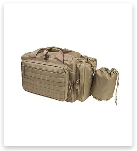 VISM Competition Range Bag with Zippered Compartments