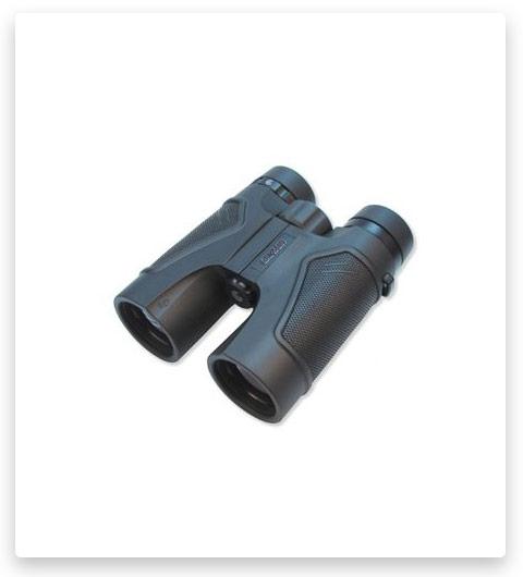 Carson 3D 10x42mm Roof Prism Waterproof Birding Binoculars