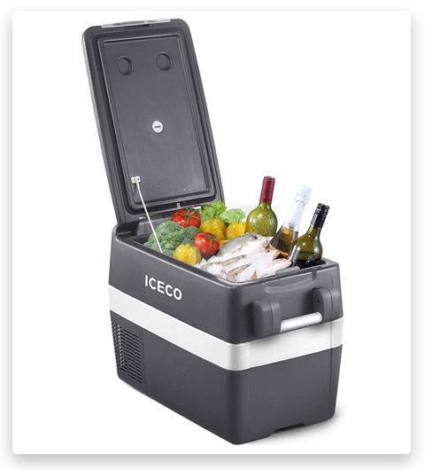 ICECO JP40 Portable Refrigerator Fridge Freezer (40 Liters)