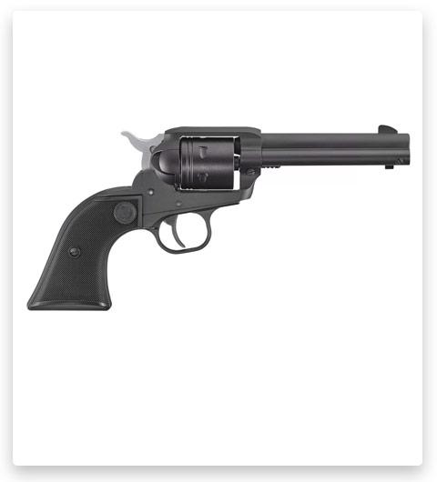 Ruger Wrangler Single-Action Rimfire Revolver With Black Cerakote Finish
