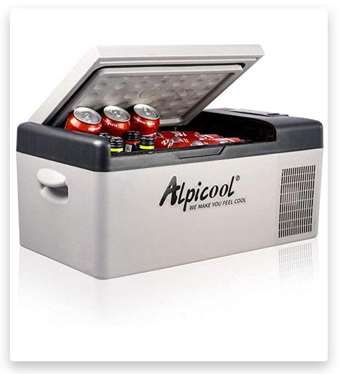Alpicool C15 Portable Refrigerator 16 Quart (15 Liter)