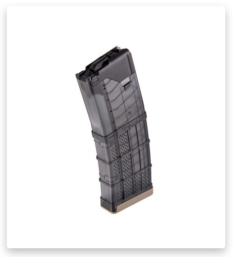 Lancer systems - AR-15 L5AWM 300BLK Translucent Smoke Magazine 30RD