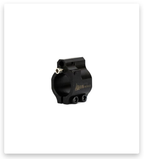 ODIN Works Clamp-On Adjustable Low Profile Gas Block