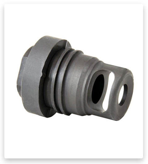 Yankee Hill Machine Yhm Mini Qd Muzzle Brake 7.62mm For 5/8x24 Threads