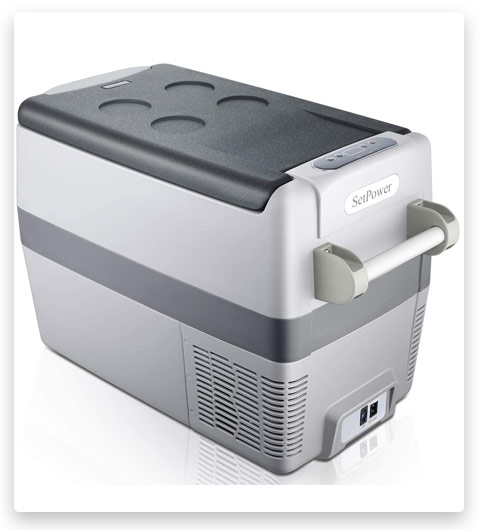 Set power AJ40 42 Quarts Portable Freezer Fridge 12V Cooler