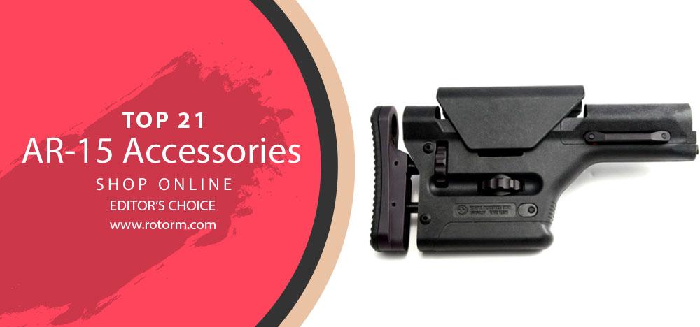 Best AR-15 Accessories - Editor's Choice