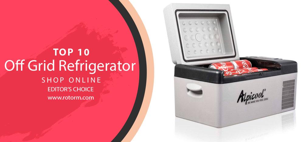 Best Off Grid Refrigerator - Editor's Choice