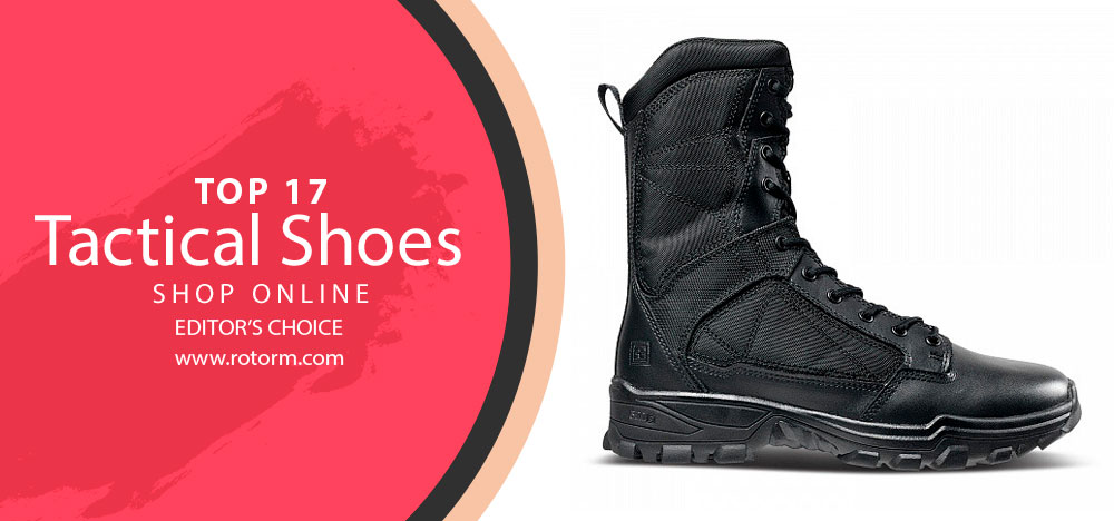 Best Tactical Shoes - Editor's Choice