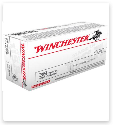 Winchester USA HANDGUN 38 Ammo Special 130 grain