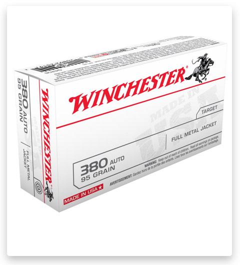 Winchester USA HANDGUN 380 ACP Ammo 95 grain