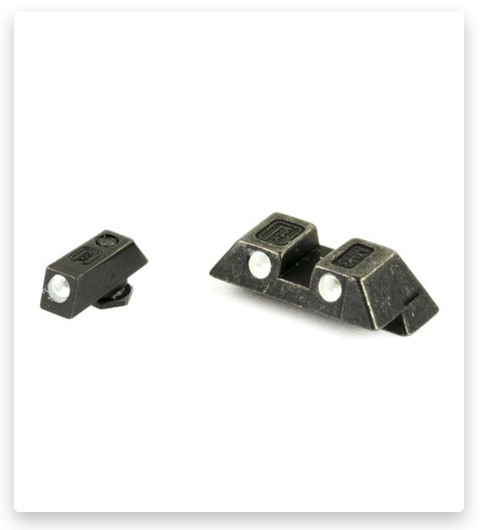 Glock 26 Green Dot Steel Night Sight Set