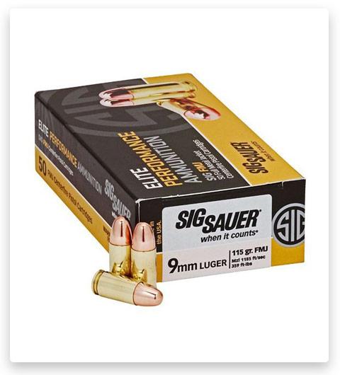 Sig Sauer Elite V-Crown 9mm Luger 115 grain