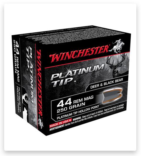 Winchester PLATINUM TIP HOLLOW POINT 44 Magnum Ammo 250 grain
